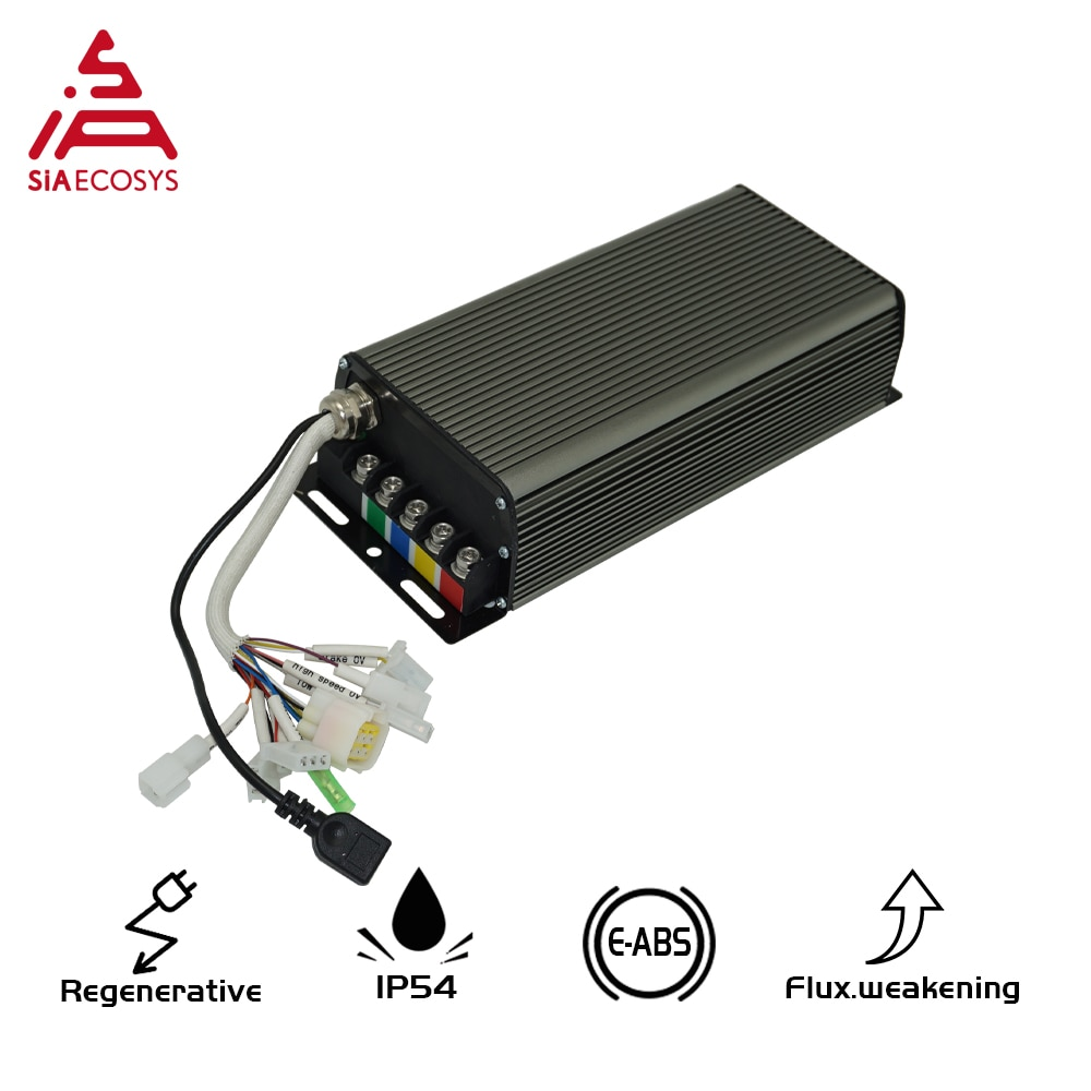 Siaecosys-وحدة تحكم Sabvoton V2 ، 150A ، SVMC72150 ، 3000 واط ، محرك بدون فرش ، وحدة تحكم في السرعة ، بدون محول بلوتوث ، QS