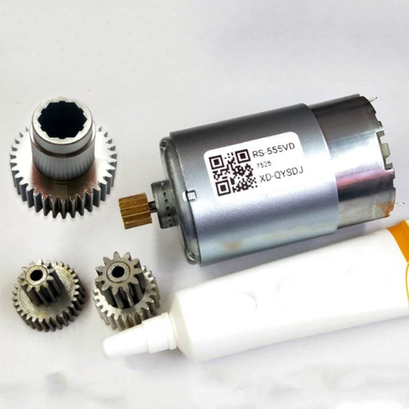Модуль электронного ручного тормоза для Hyundai Santafe, двигатель постоянного тока IX45 Tucson, металлическая маленькая Шестерня 597002W600/2W900, запчасти д...