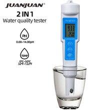 5 pièces professionnel PH appareil testeur analyze eau qualité mètre Correction automatique étanche acidité mètre 40% off