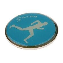 Moneda de lanzamiento de dos caras para fútbol voleibol tenis de mesa
