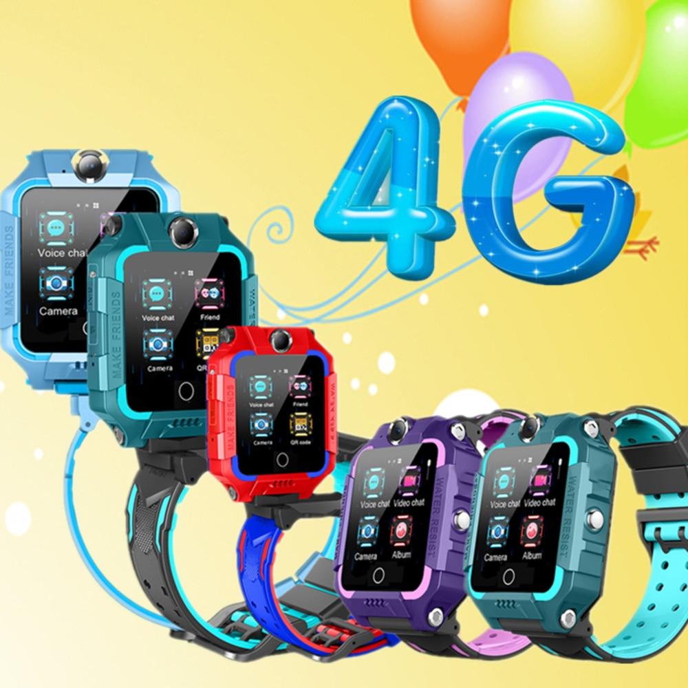 4G GPS WIFI LBS Tracker Phone Watch Kids Smart Watch Waterproof SOS Video Call for Children Anti Lost Monitor Baby