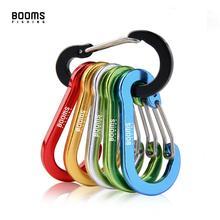 Booms Fishing CC1-Pinzas de mosquetón pequeñas de acero, accesorios de pesca multiherramienta para acampar al aire libre, 6 uds.