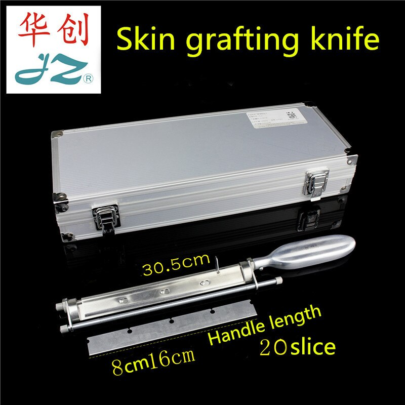 JZ surgical Instrument Medical Roller Shaft Skin-taking Knife Skin-grafting Blade Rack Burn Plastic Surgery Skin-grafting Roller