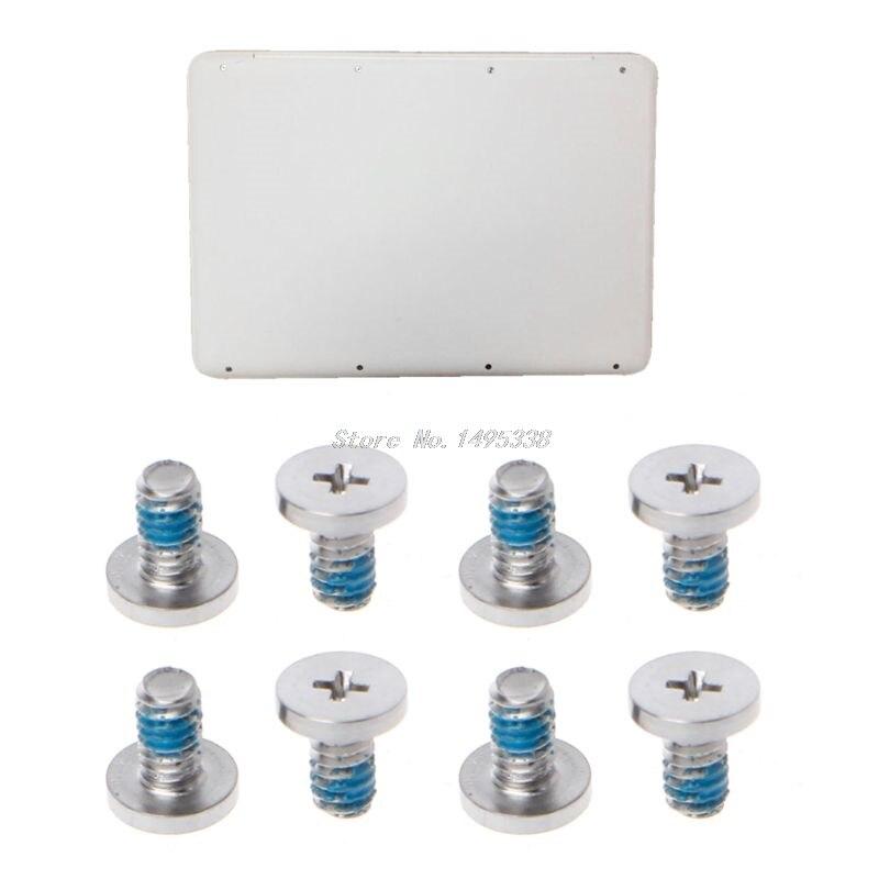 8pcs Laptop Bottom Fall Schraube Für MacBook A1342 MC207 MC516 Zurück Abdeckung Schraube