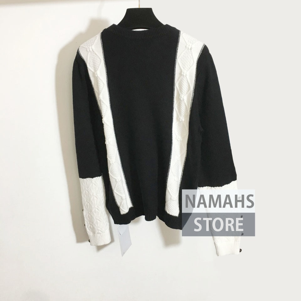 high end fall fashion sweater women long sleeve o neck jacquard logo pullover woman sweaters jumper branded clothes jumpers S-L enlarge