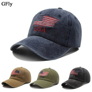 Hat female summer washed ponytail baseball cap spring and autumn old outdoor sun hat solid color cap