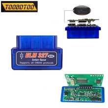 Автомобильные аксессуары Super Mini ELM327 V1.5 Bluetooth чип PIC18F25K80 ELM 327 в 1 5 OBD2 диагностический инструмент с поддержкой J1850