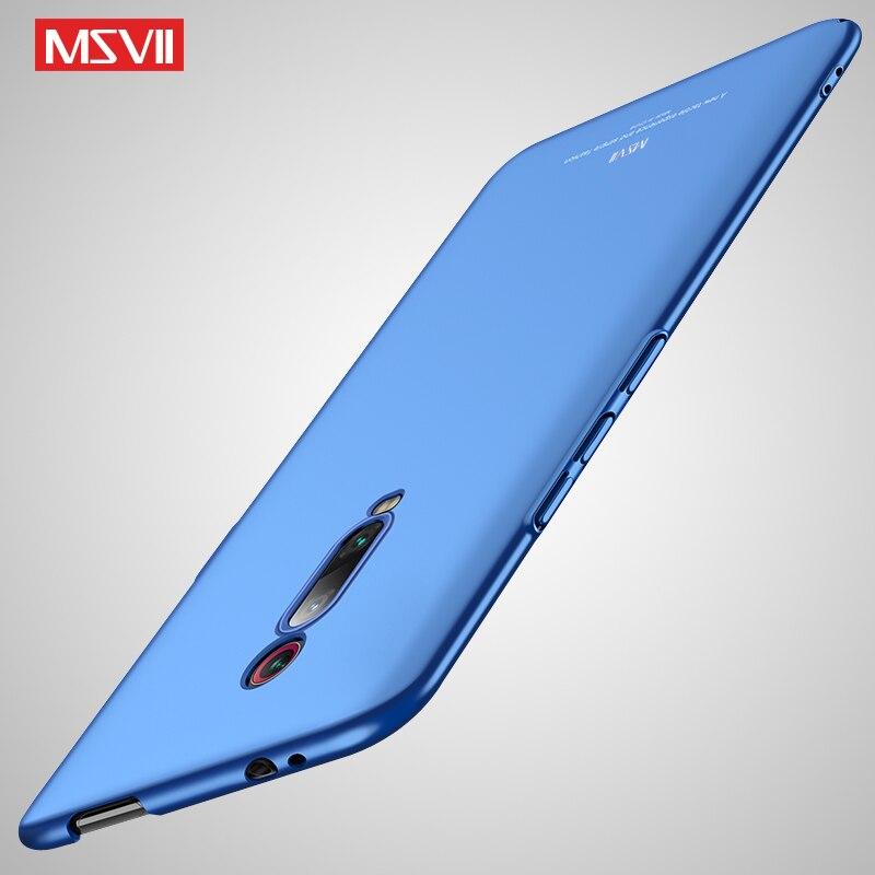 Funda Mi9T Pro Msvii, funda esmerilada delgada para Xiaomi Redmi K20 Pro, funda Xiomi Mi9t, funda dura de PC mate para Xiaomi Mi 9T Pro, fundas