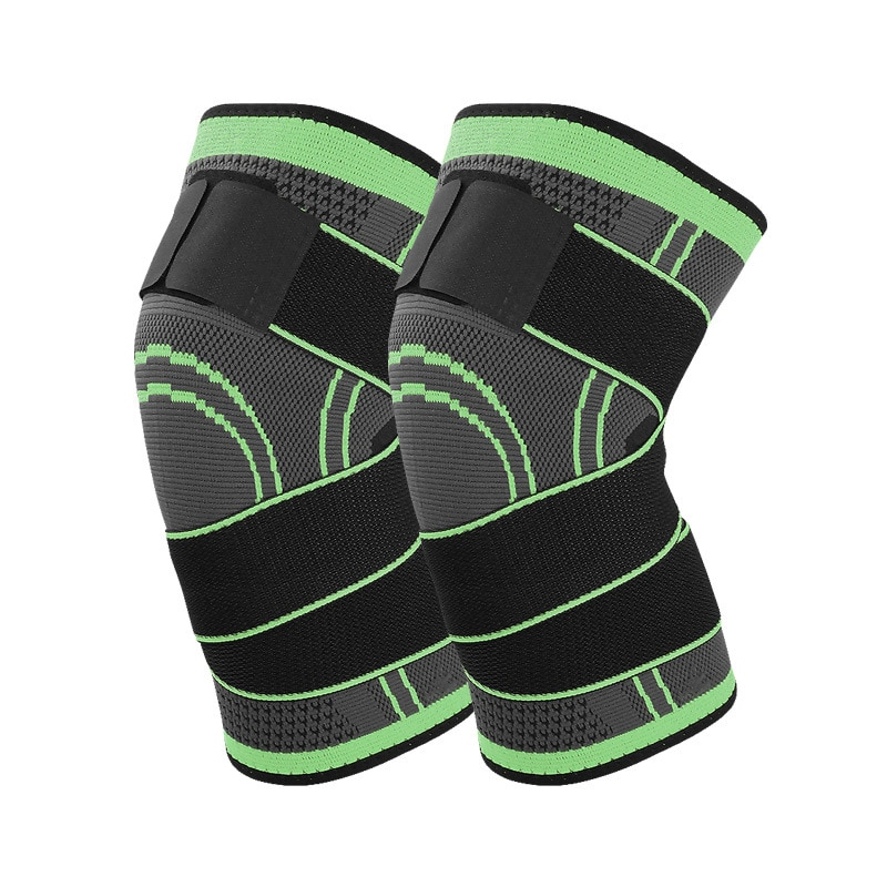 Knee Sleeves Weightlifting for Men Women Outdoor Basketball Knee Brace Breathable Protector Basketball Volleyball Bikes 1 Pcs