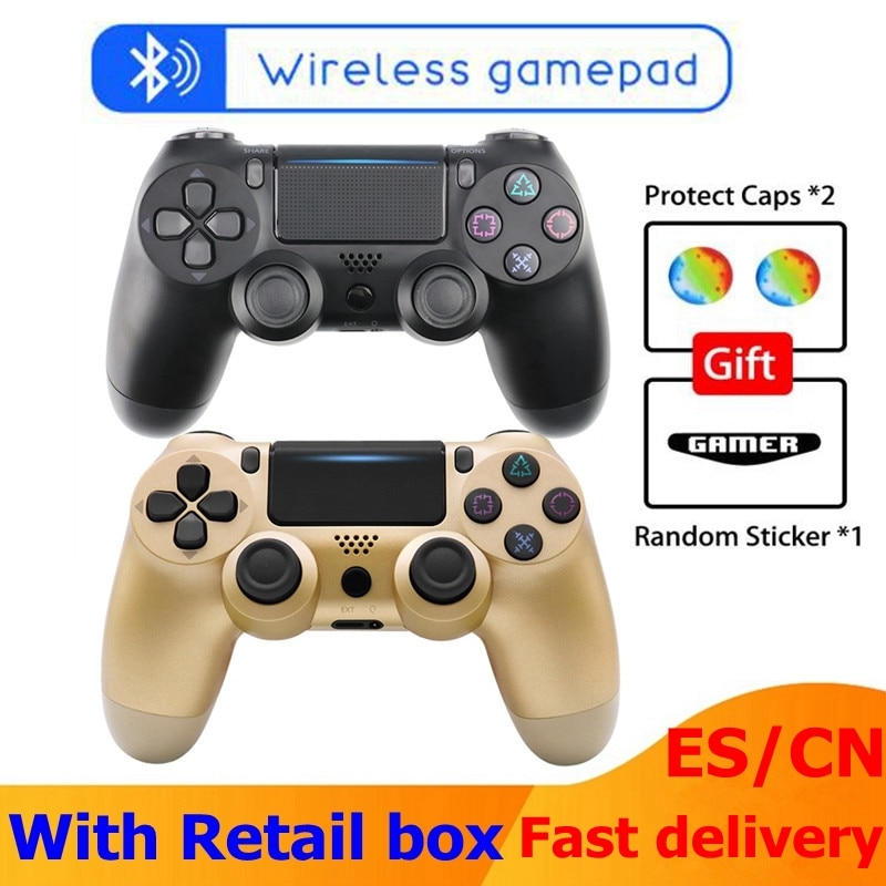 2020 Wireless Bluetooth Game Controller For PS4 Joystick For Playstation Dualshock 4 Gamepad For mando ps4 Console PS4 Gamepads недорого