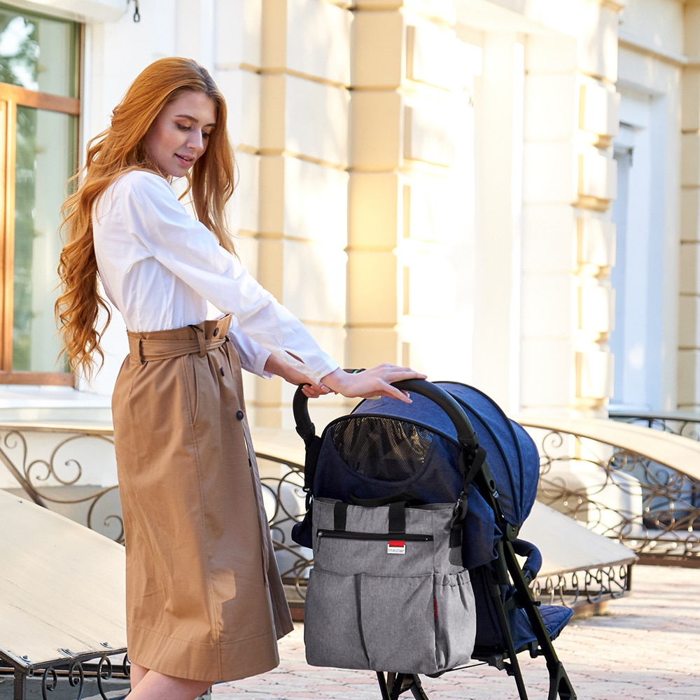 Baby Diaper Bags Fashion Large Capacity Shoulder Mummy Maternity Bag Waterproof Outdoor Travel Nappy Organizer Stroller Bag