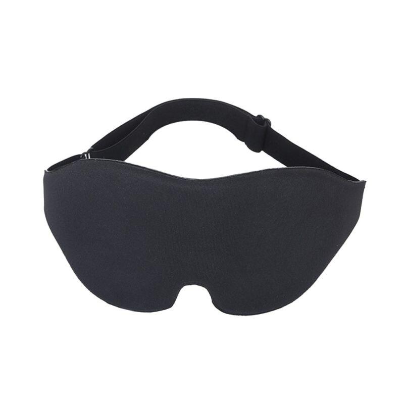 Mascarilla para dormir 3D con alas para la nariz para hombre y mujer, máscara de ojos cóncava