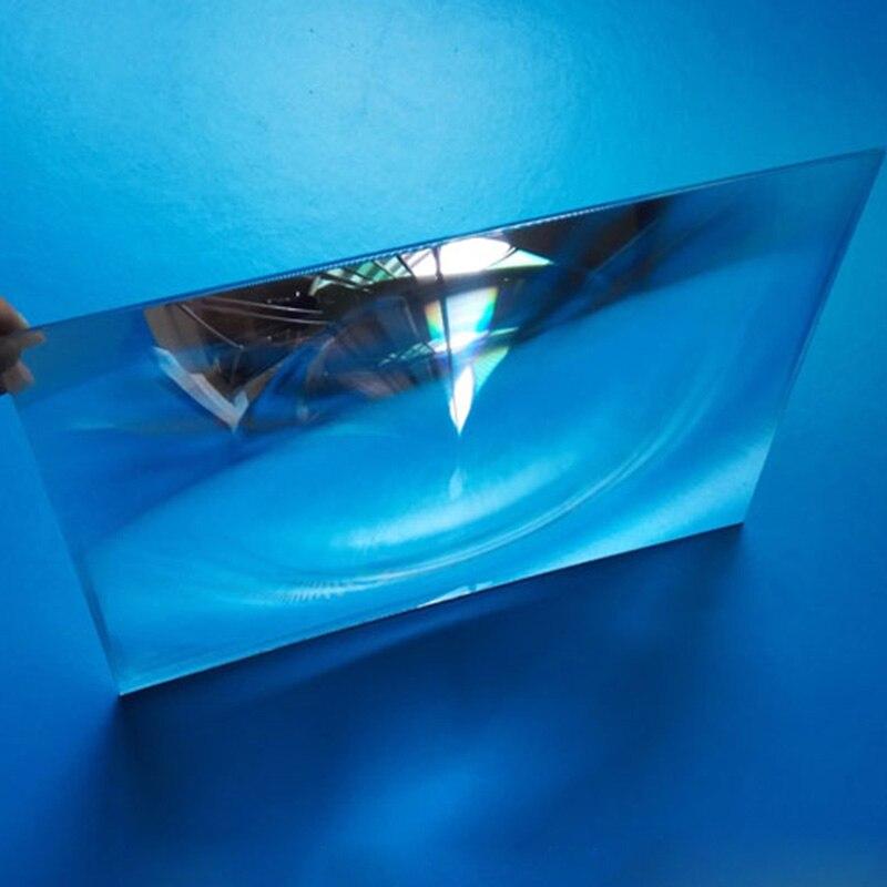400x300 мм большой оптический пластиковый объектив Френеля ПММА для проектора с фокусным расстоянием 600 мм Лупа, линзы солнечного концентратор...