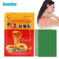 8pcs snake venom pain relief patch arthritis lumbar shoulder joint knee neck waist ache orthopedic plater body massage sticker