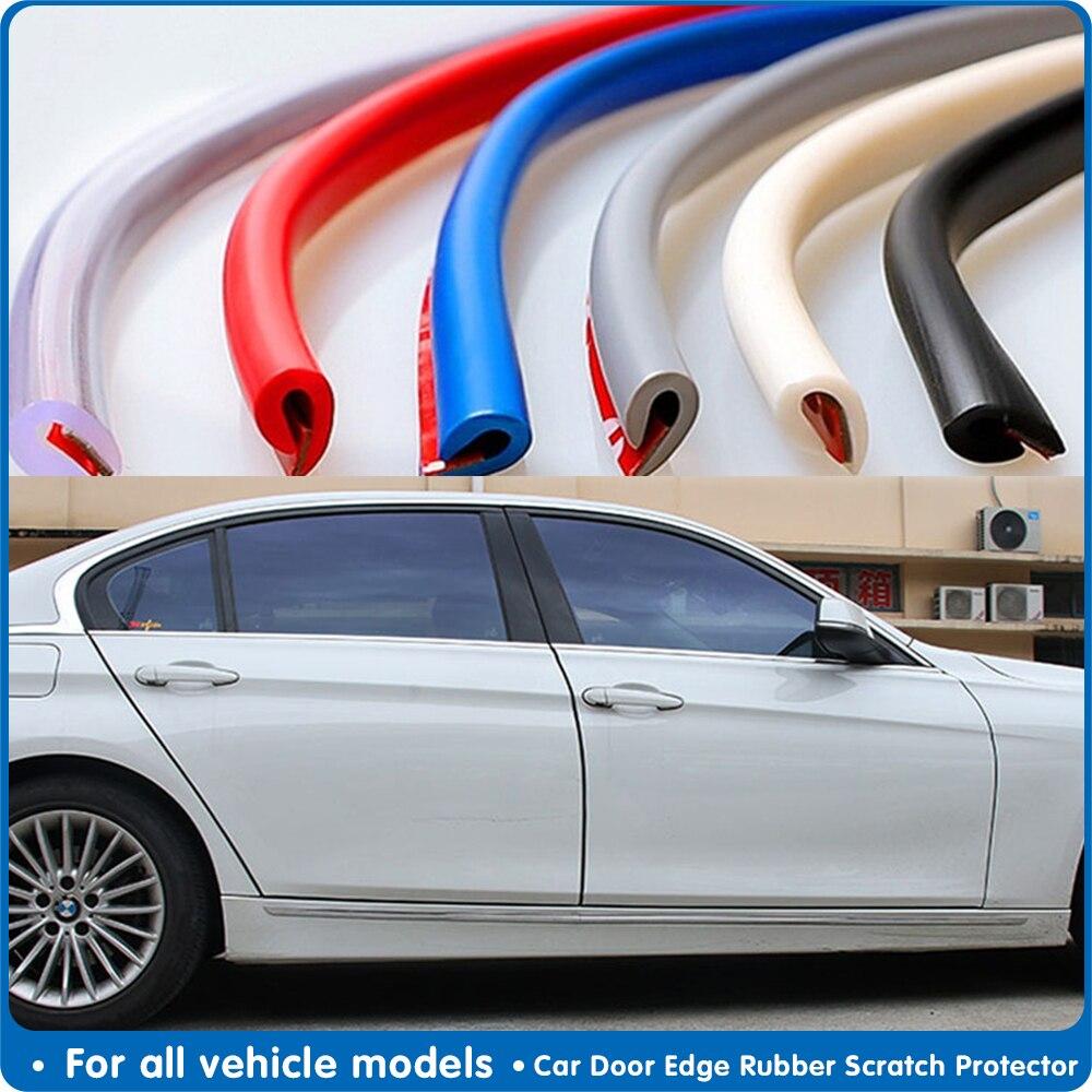 10M/pegatinas de coche, Protector de puerta, molduras de diseño, tiras de protección de borde de goma, pegatina de estilo de coche, sello de puerta automático