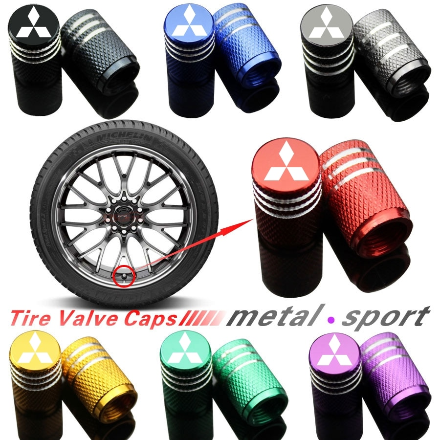 Piezas para neumáticos de ruedas vástago de válvula para Mitsubishi ASX Lancer Pajero Outlander L200 EVO