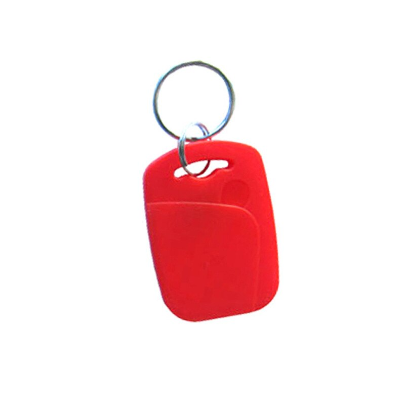 100pcs UID+T5577 Rewritable Composite Key Tags Keyfob Dual Chip Frequency RFID 125KHZ  EM4305+13.56MHZ Changeable Writable