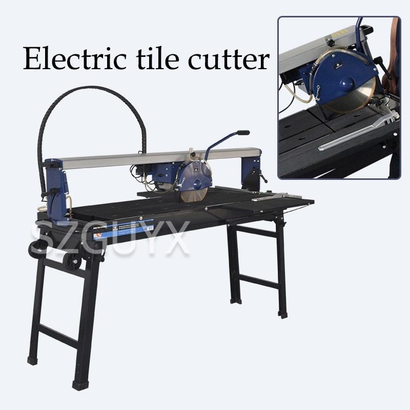 Máquina de corte de azulejos eléctrica de escritorio, máquina de corte por chorro de agua semiautomática con borde de chaflán, Cortador manual de azulejos multifuncional