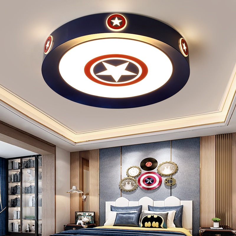 Lámparas de techo led decorativas modernas, luces de salón para habitación, decoración...