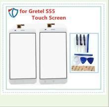 Dla Gretel S55 montaż digitizera ekranu dotykowego darmowa wysyłka