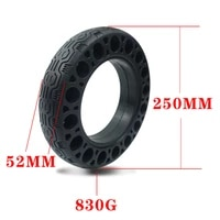 electric scooter tyre rubber 6070 6 5 honeycomb solid tire 25025052mm