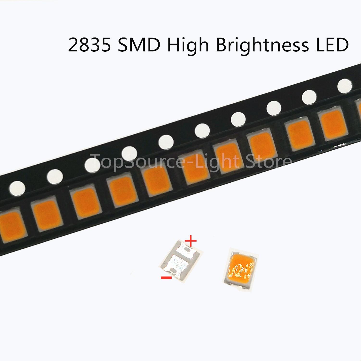 1000 قطعة ل Lextar LED الخلفية 1210 3528 2835 3V 250ma 130lM بارد الأبيض ل LG Innotek LCD الخلفية LED TV التطبيق
