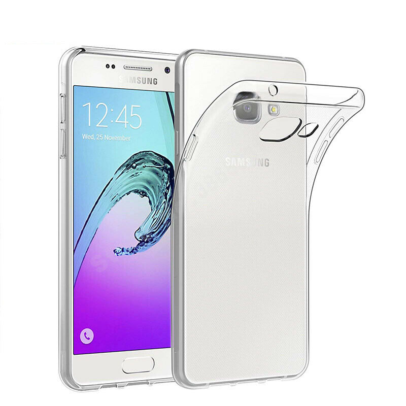 Soft TPU Case For Samsung Galaxy A3 2016 Thin Clear Silicone Protective Crystal Back Cover Caso Full