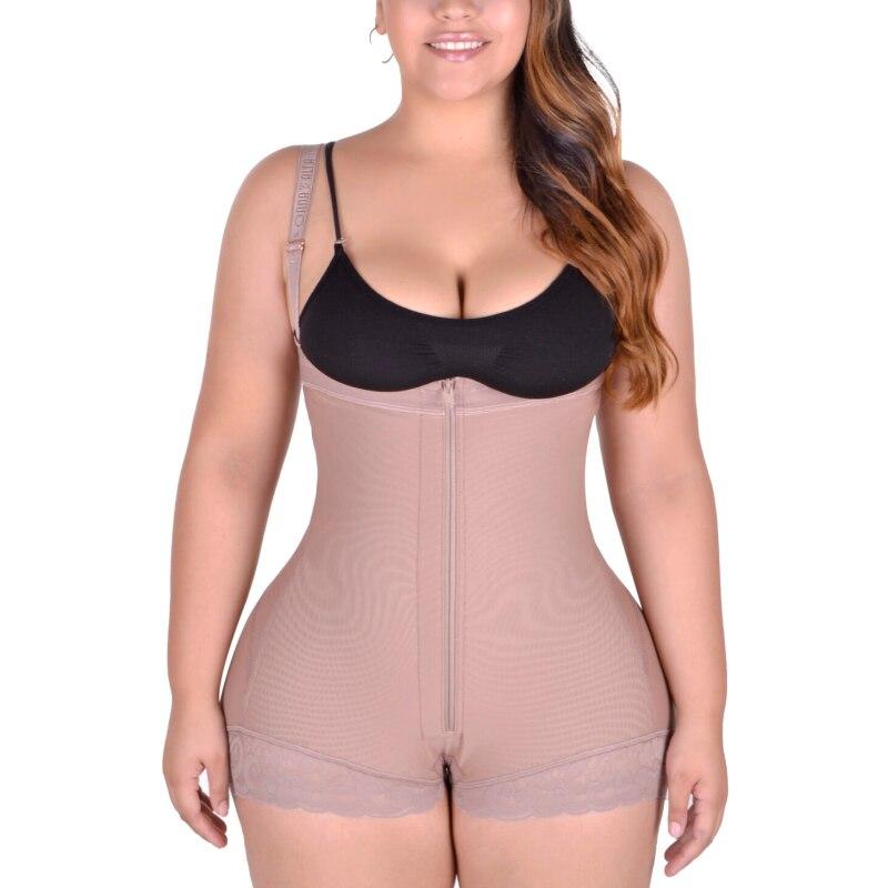 Tightening Waist Siamese Shapewear Sheath Flat Belly Panty Girdle Latex Slimming Woman Reducing Girdles bbl post op surgery supp