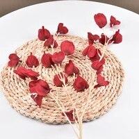 artificial cape gooseberry plants flower fake fruit grass diy christmas decor wedding home decoration non woven fall decor