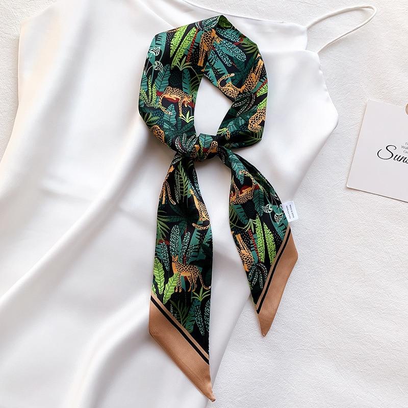 women scarf  silk scarves shawls lady wraps soft Neckerchief Hijab Headscarf Femalegirl bufandas par