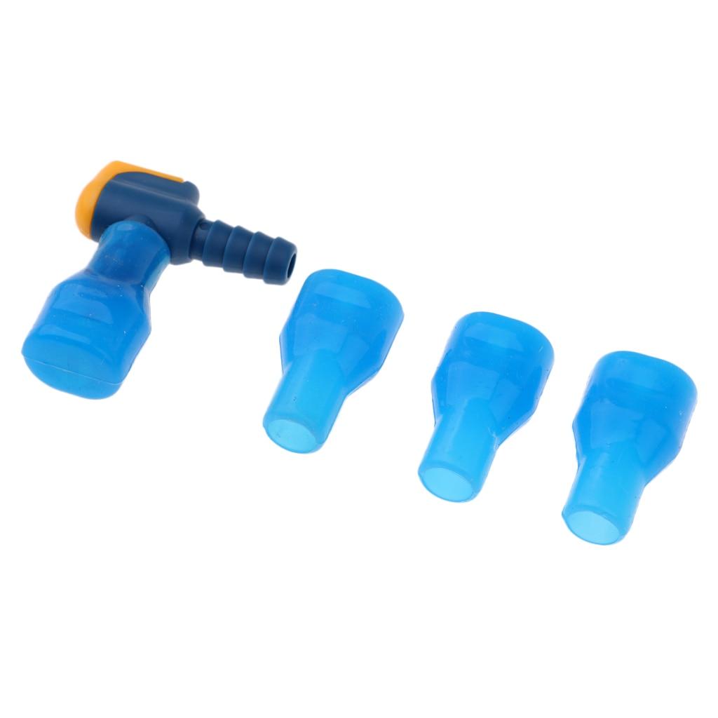 3 pçs substituição tubo mordida válvula hidratação pacote mangueira