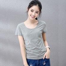 2020 Women  Short black Sleeve  lvory   Shirt Top Garment