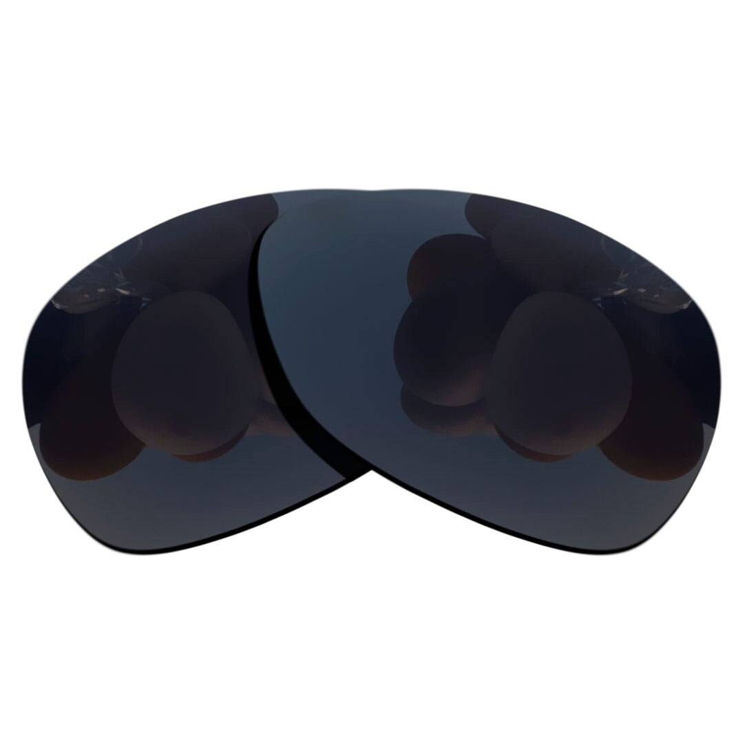 Stealth Black Polarized Sunglasses Replacement Lens for- RAY BAN   RB2132-55 Frame 100% UV Protectio