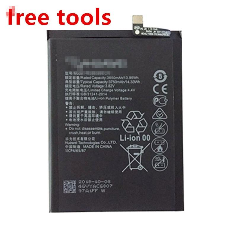 Nova 3750ma hb386589ecw bateria de substituição do telefone móvel para huawei p10 plus honra 8x glória 8x/vista 10 lite JSN-L21 l22 l23 l42