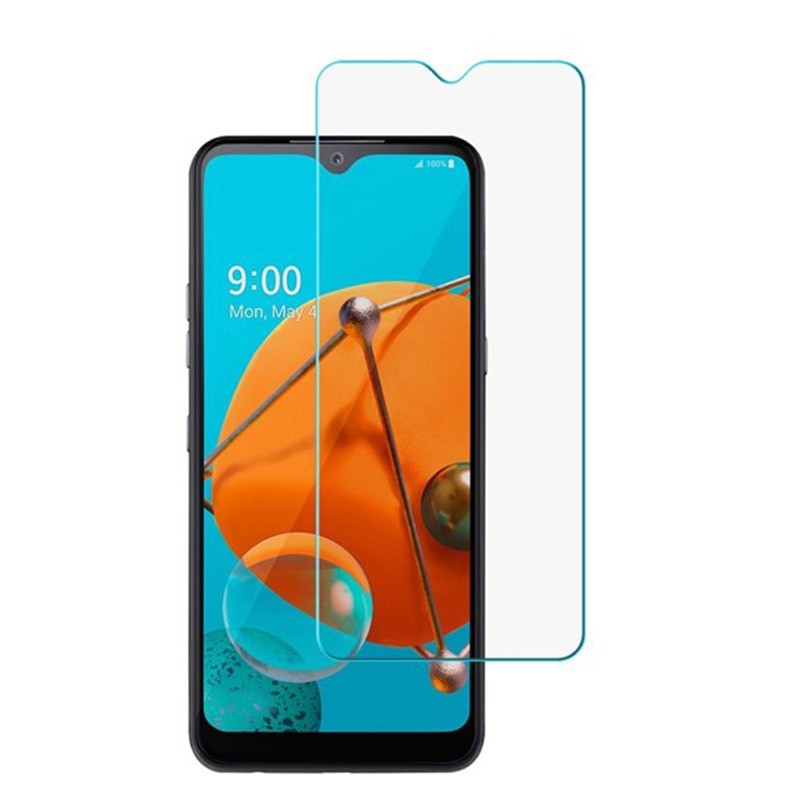 10 Uds Protector de pantalla de vidrio templado para LG Q60 K40...