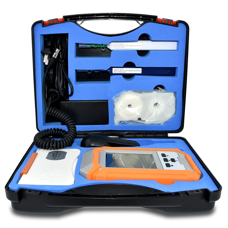Fiber Video Inspection Probe Microscope Fiber Optic End Face Inspection Detector