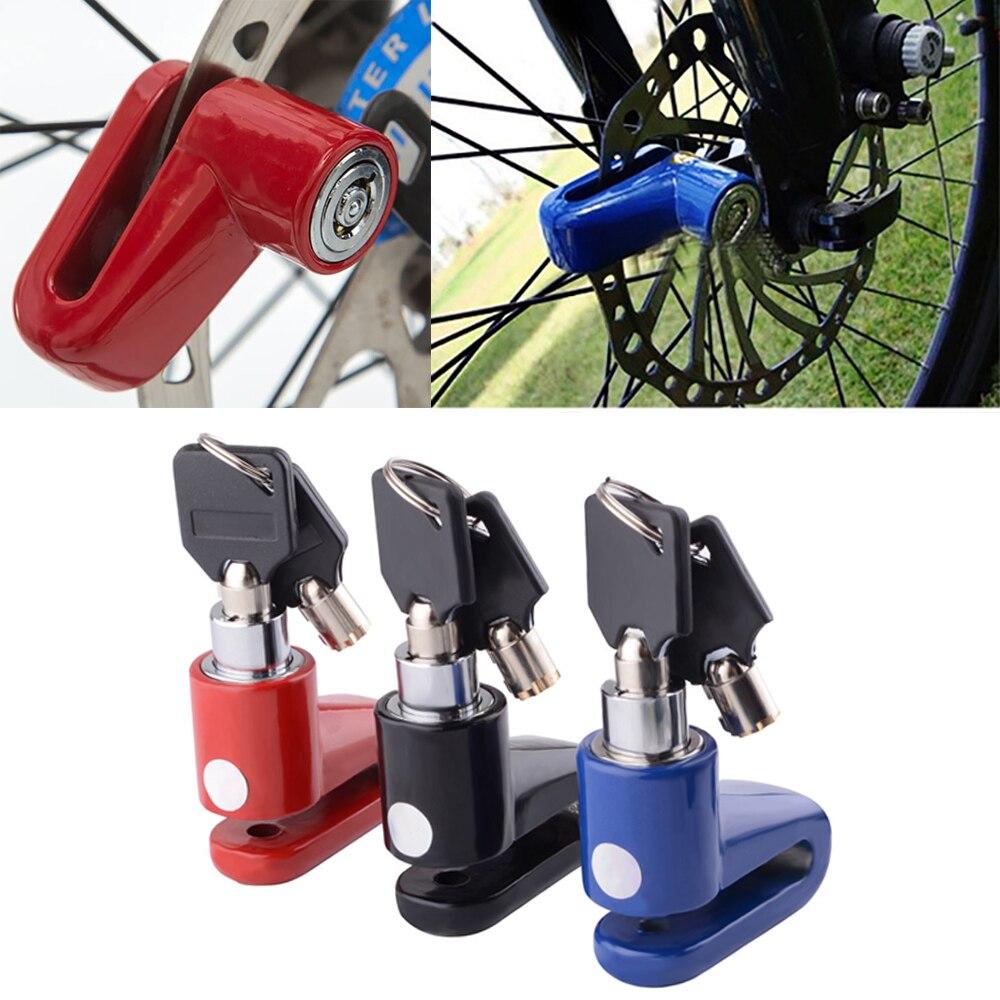 Противоугонные замки для защиты мотоциклов, дисковые тормоза, электромобилей, велосипедов, аксессуары для защиты от кражи