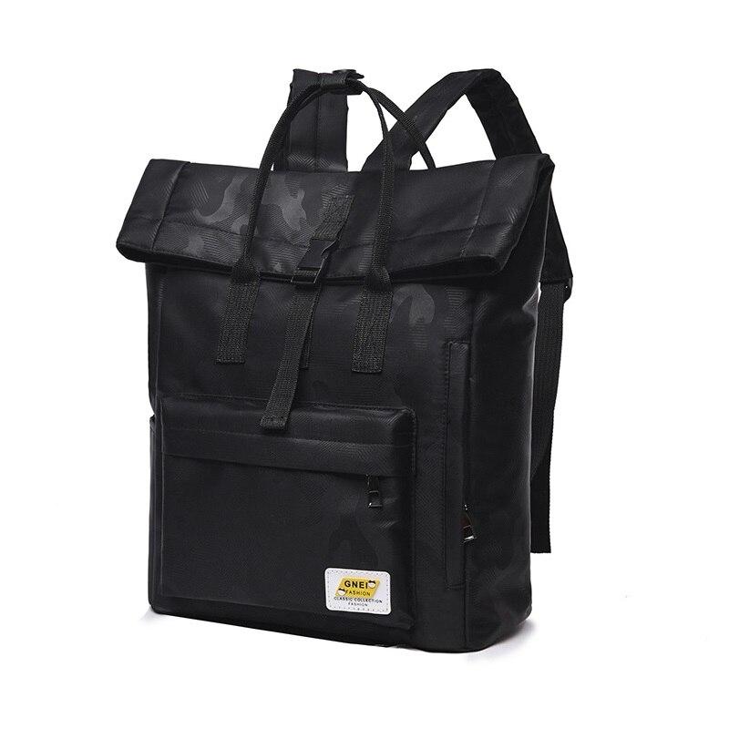 حقيبة ظهر أكسفورد 14 لتر للنساء ، حقيبة مدرسية فريدة للمراهقات ، حقيبة سفر كورية للمراهقين ، حقيبة مصممة باللون الأصفر الصلب ، 2020