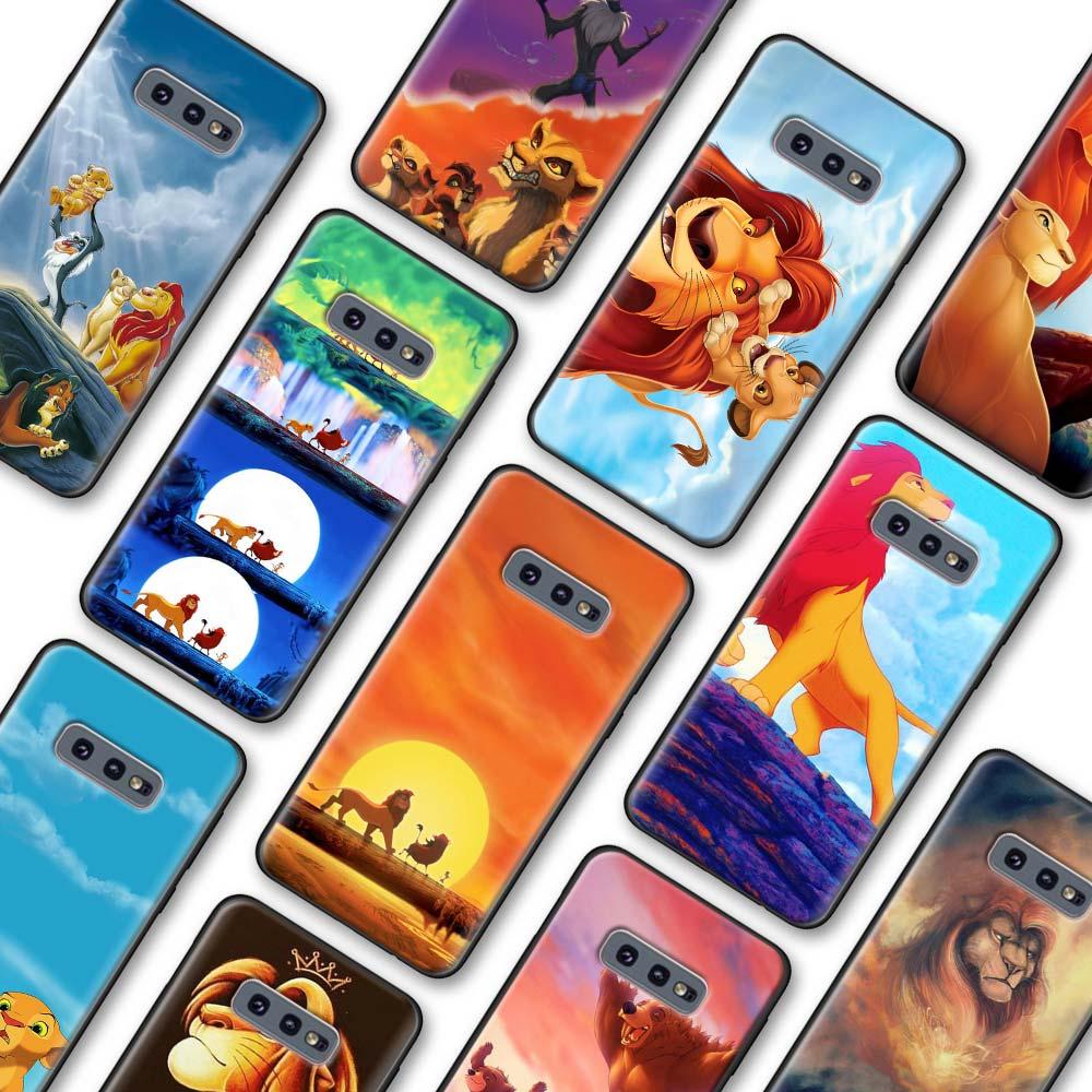 Hakuna Matata the Lion King Case Coque for Samsung Galaxy S10 S20 Plus S10 S20 Ultra 5G S8 S9 S10 S20 Note 8 9 10 Plus Cover