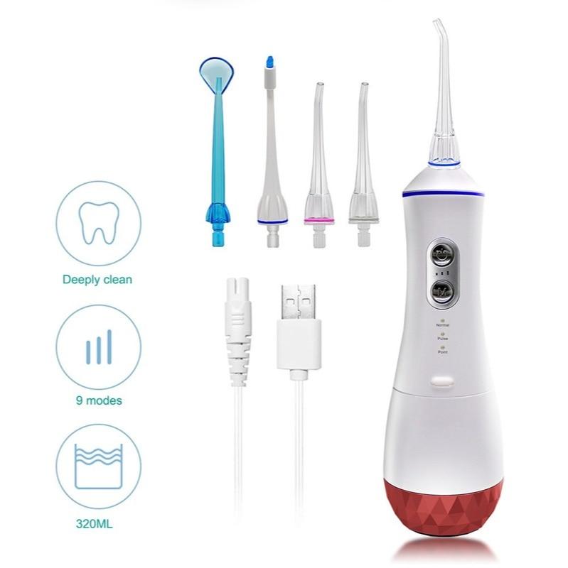 The new portable high-capacity flosser flosser water floss oral care custom processing cross-border enlarge