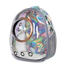 Sac à dos de voyage bulle dastronaute pour chien et chat, Capsule spatiale transparente pour transport en plein air, sac à dos respirant pour petit chien chat