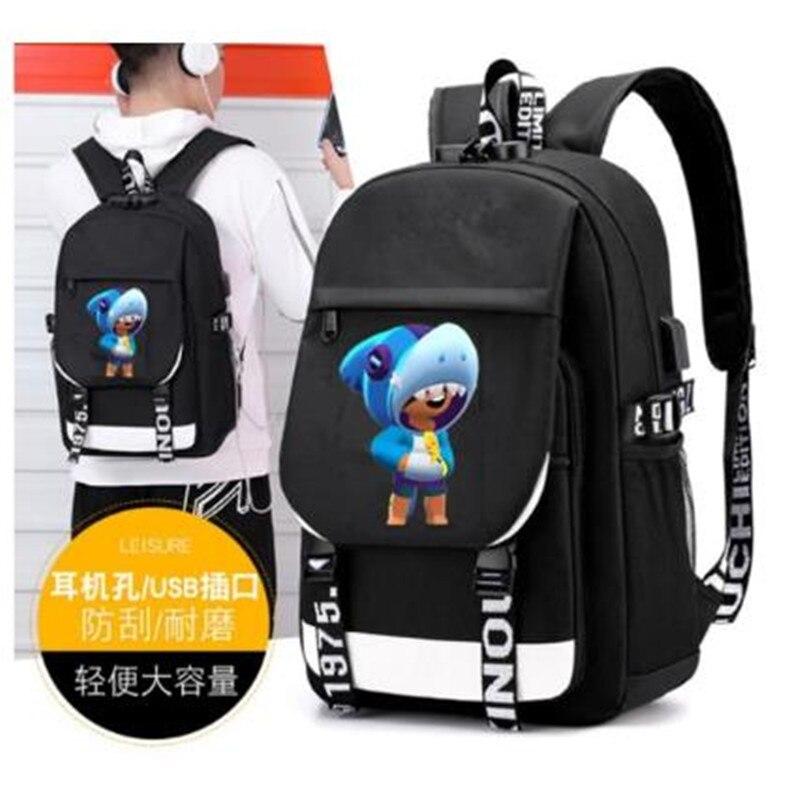 Jogos quentes leon escola mochila para meninos grande mochila feminina bolsa de ombro moda mochilas de viagem para meninos adolescentes