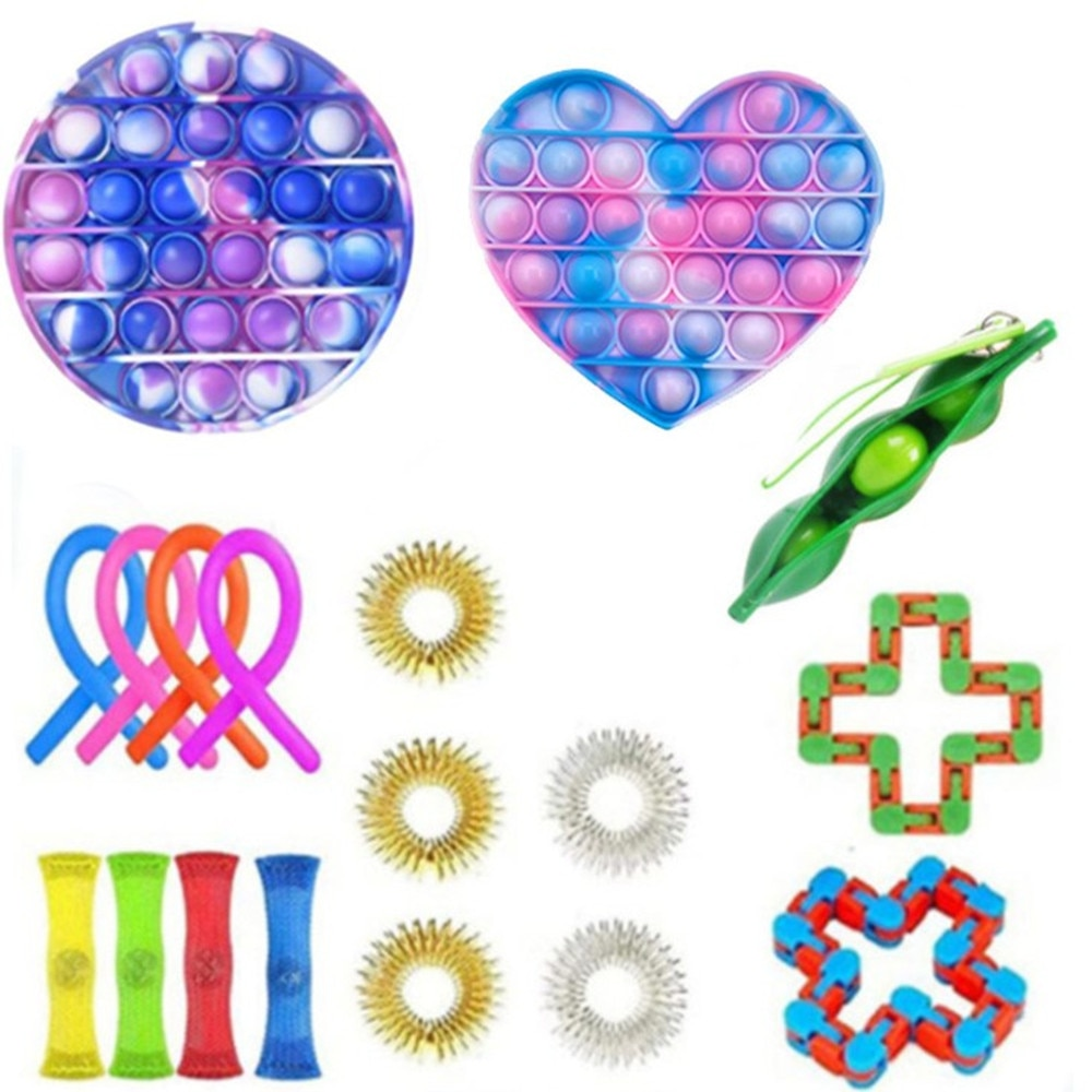 New Fidget Toys Anti Stress Set Stretchy Strings Popit Gift Pack Adults Children Squishy Sensory Antistress Relief Figet Toys enlarge