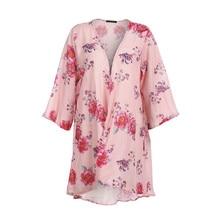 Cardigan Kimono fleuri femme   Ample, motifs floraux, Boho, mode, nouvelle collection