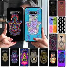 Yndfcnb Hamsa Hand Van Fatima Soft Phone Cover Voor Samsung Galaxy A30 A20 S20 A50S A30S A71 A10 A10S A7 a8 A6 Plus Gevallen