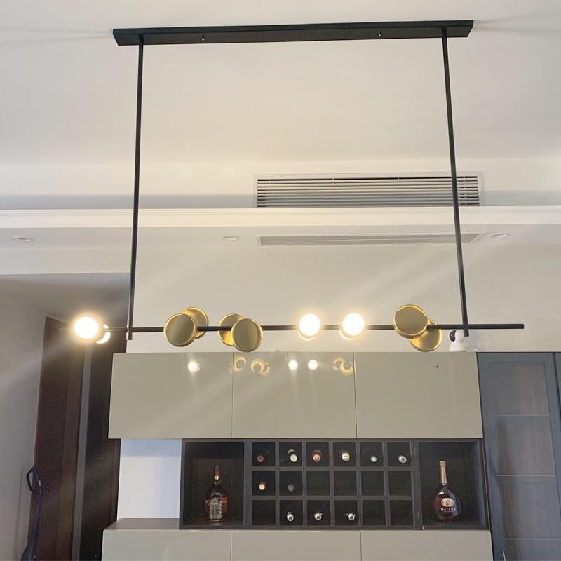 Luces de lujo artes una lámpara de araña modelo CASA MESA Bar mostrador lámpara de diseño original hogar restaurante una araña