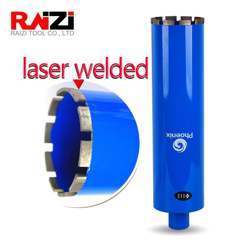"Raizi 20-63mm broca de base de diamante para grifo de pared de hormigón calentador de agua aire acondicionado 1-1/4 ""herramienta de perforación de agujero de mampostería"