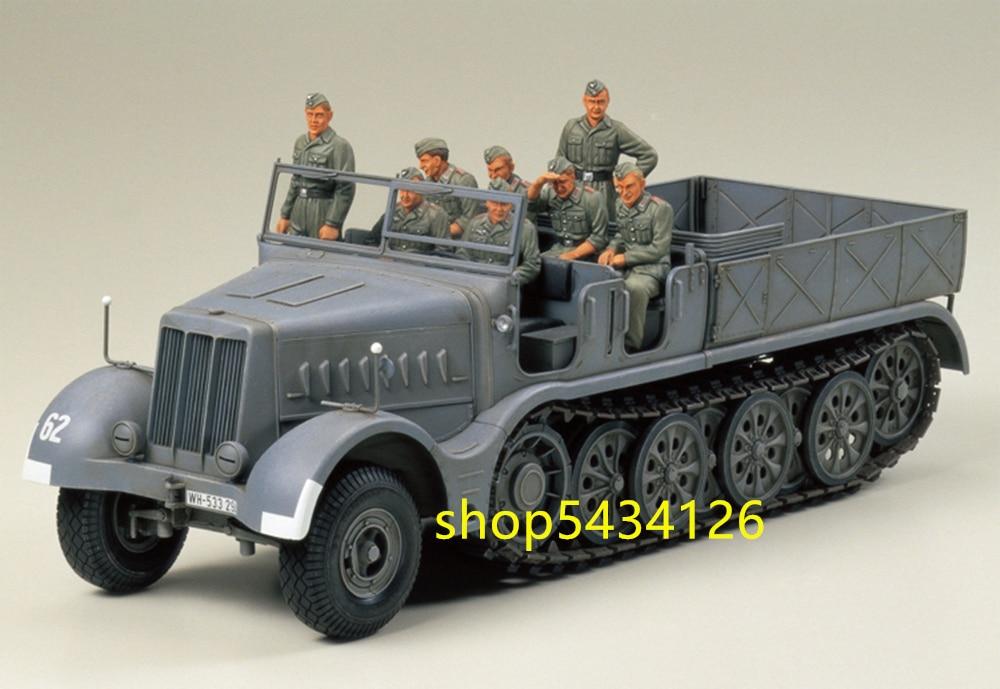 Tamiya ensamblado modelo 1/35 escala Alemania FAMO 18 toneladas Tractor semiroruga pesada 35239