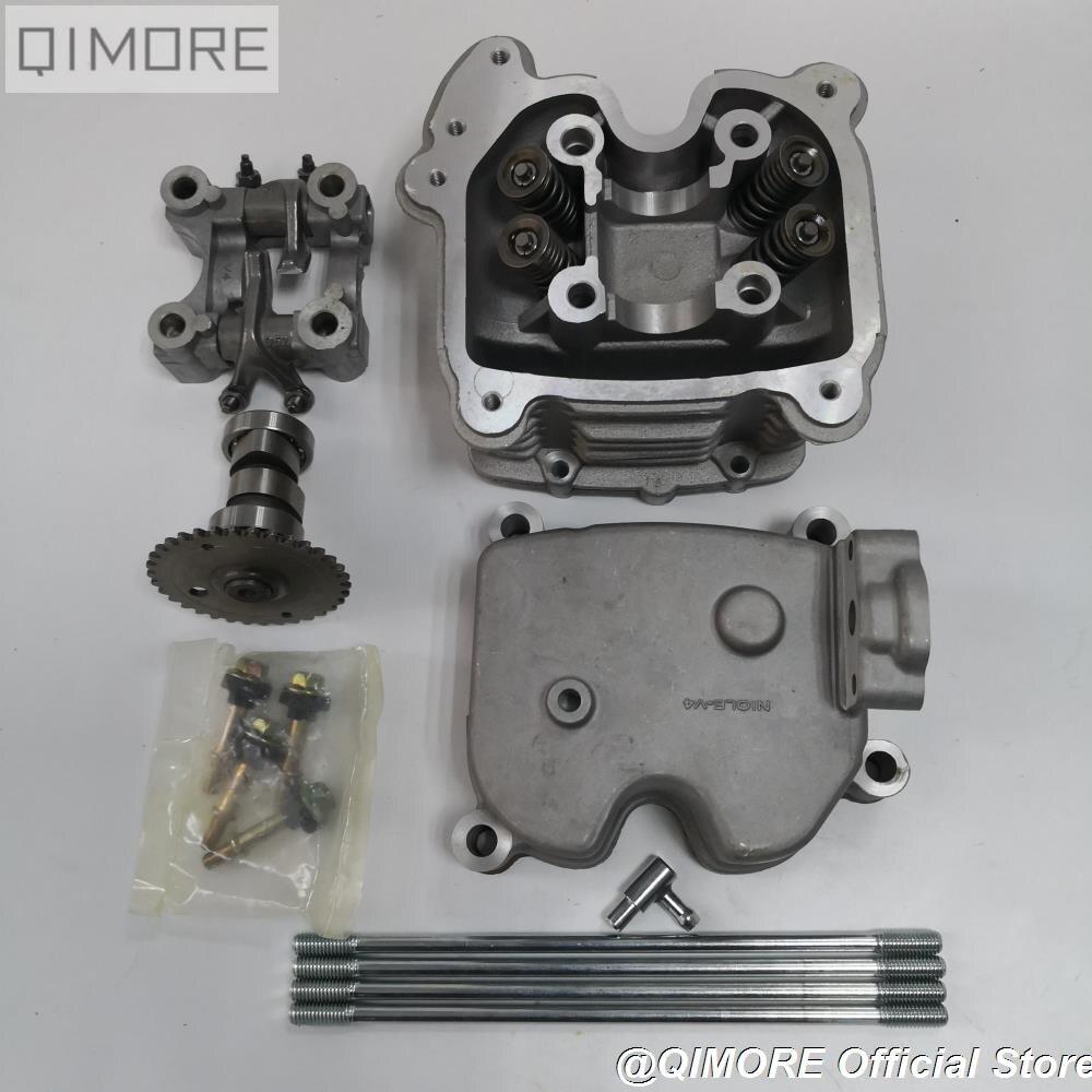 Desempenho 4-válvula válvulas 4 4V kit cabeça de cilindro para Scooter 152QMI 1P52QMI 157QMJ 1P57QMJ GY6 125 GY6 150