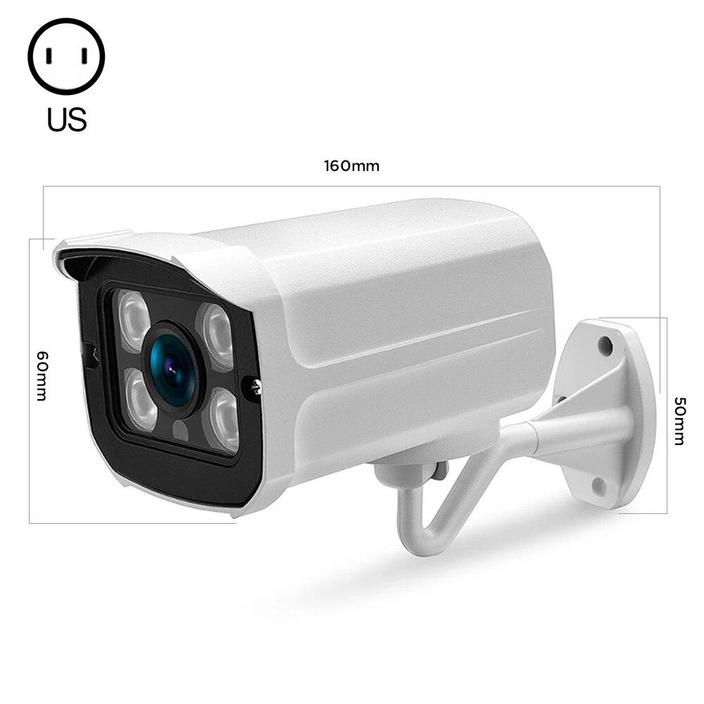1080P IP66 كاميرا الأمن AHD الأشعة تحت الحمراء للرؤية الليلية الإنسان كشف الحركة مقاوم للماء في الهواء الطلق مراقبة لاسلكية كاميرا ملونة